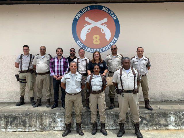 Itapetinga: DPT ministra palestra para policiais da 8ª CIPM