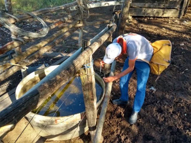 Itapetinga: Agentes de Endemias e Vigilância Epidemiológica realizam o último Levantamento de Índice Rápido para Aedes Aegypti 2019