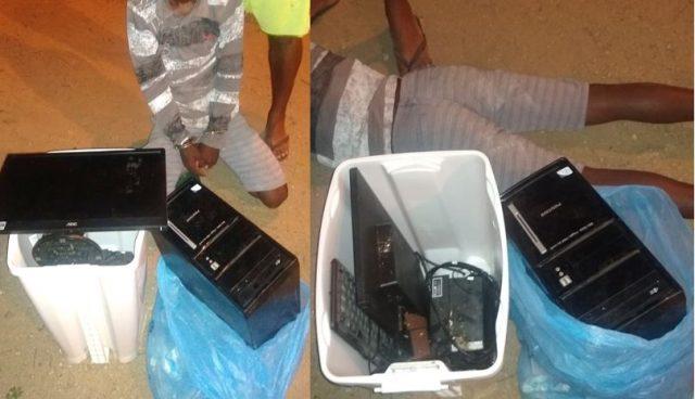 Itambé: GCM detém arrombador de postos de saúde no exato momento em que furtava UBS