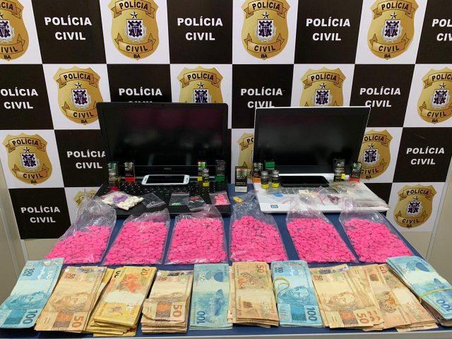 Conquista: Polícia prende acusado de ser um dos maiores fornecedores de ecstasy ('bala') da cidade, diz PC