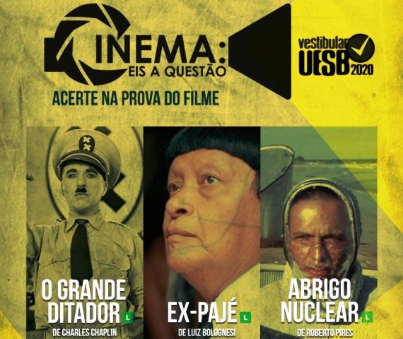 Filmes do Vestibular 2020 serão exibidos em Itapetinga