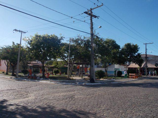 Itapetinga: Praça Izaú Gonçalves está ficando linda