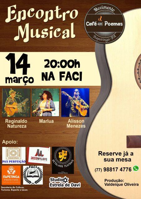 Encontro Musical Será realizado em Itapetinga gerando grande expectativa em toda região…