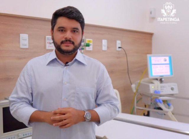 Prefeito Rodrigo Hagge busca formas de preparar o serviço de saúde para atender possíveis casos de COVID-19