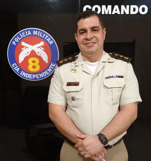 Major Vandilson Araújo é o novo comandante da 8ª CIPM/Itapetinga