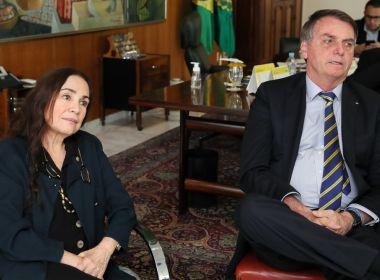 Bolsonaro mantém Regina na Cultura, mas já pensa em Mário Frias como substituto