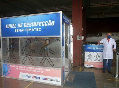 Túneis de desinfecção não são eficazes contra o novo coronavírus, diz Anvisa