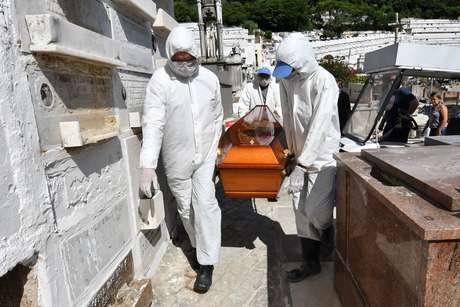 Domingo: Brasil registra 566 mortes por covid-19 nas últimas 24h