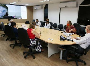 Sesab se reúne com entidades médicas para discutir panorama da Covid-19 na Bahia