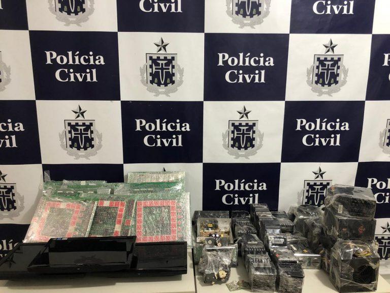 Itapetinga: Polícia Civil deflagrou a operação jogo limpo para coibir a contravenção penal do jogo de azar no município e região