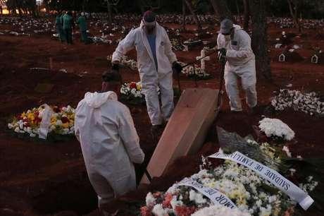 Brasil tem 1175 mortes por covid-19 e 55 mil casos em 24h