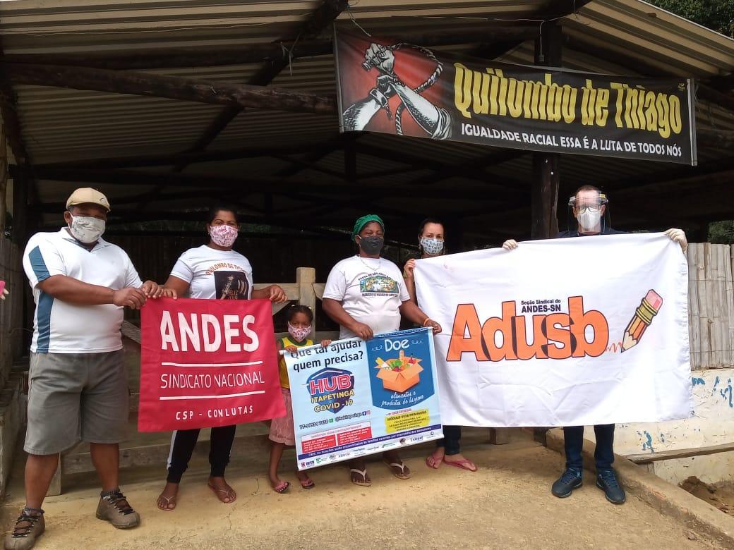 Itapetinga: Grupo HUB continua prestando auxílio à população em vulnerabilidade durante a pandemia de covid-19