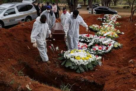 Quinta-Feira: O Brasilregistrou mais 984 mortes pelo novo coronavírus