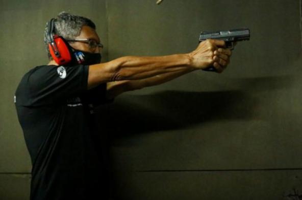 Demanda por armas aumenta 620% na Bahia
