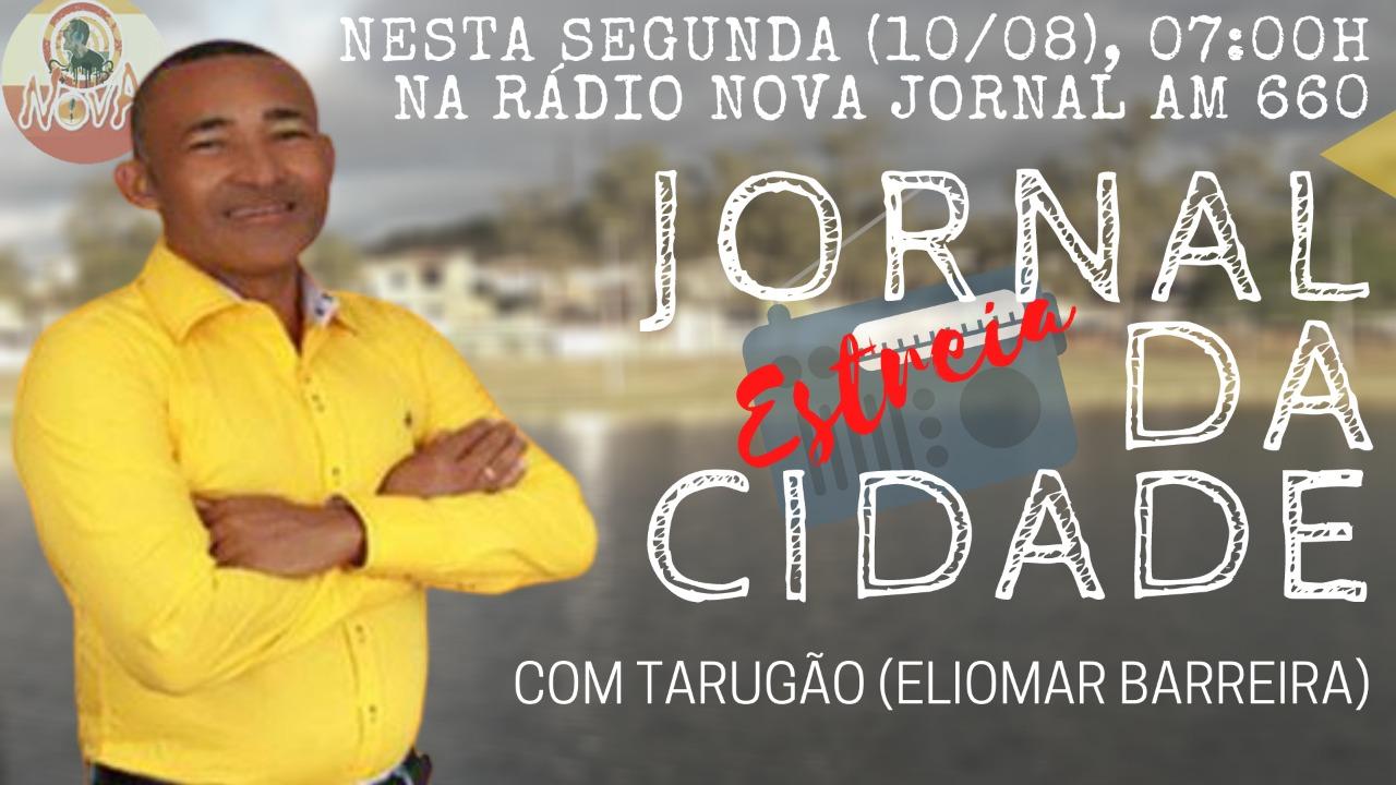 """Itapetinga : """"Jornal da Cidade """" Estreia nesta segunda-feira (10) em nova emissora"""