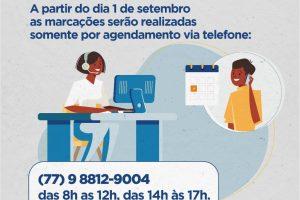 Itapetinga: CDM retomará marcações por agendamento prévio via telefone