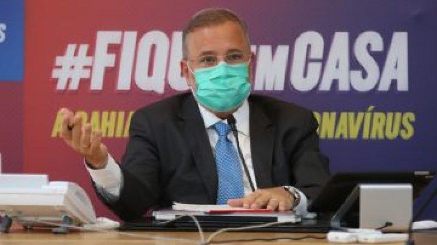 """""""Conseguimos esmagar a curva do coronavírus"""", diz secretário de Saúde da Bahia"""
