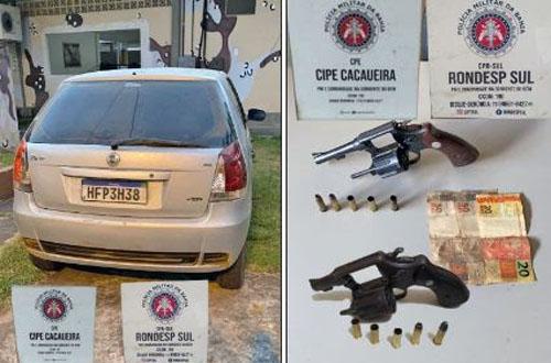 Três bandidos morrem em confronto com Rondesp e Cipe