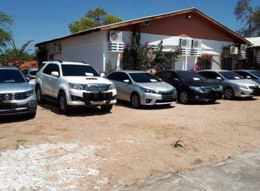 Operação Alcateia apreende carros avaliados em mais de R$ 100 mil com milicianos na BA
