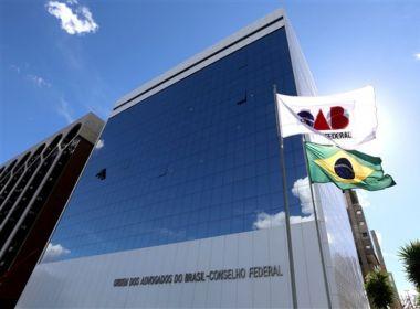 OAB afirma que é inconstitucional proposta de plebiscito para convocar Constituinte