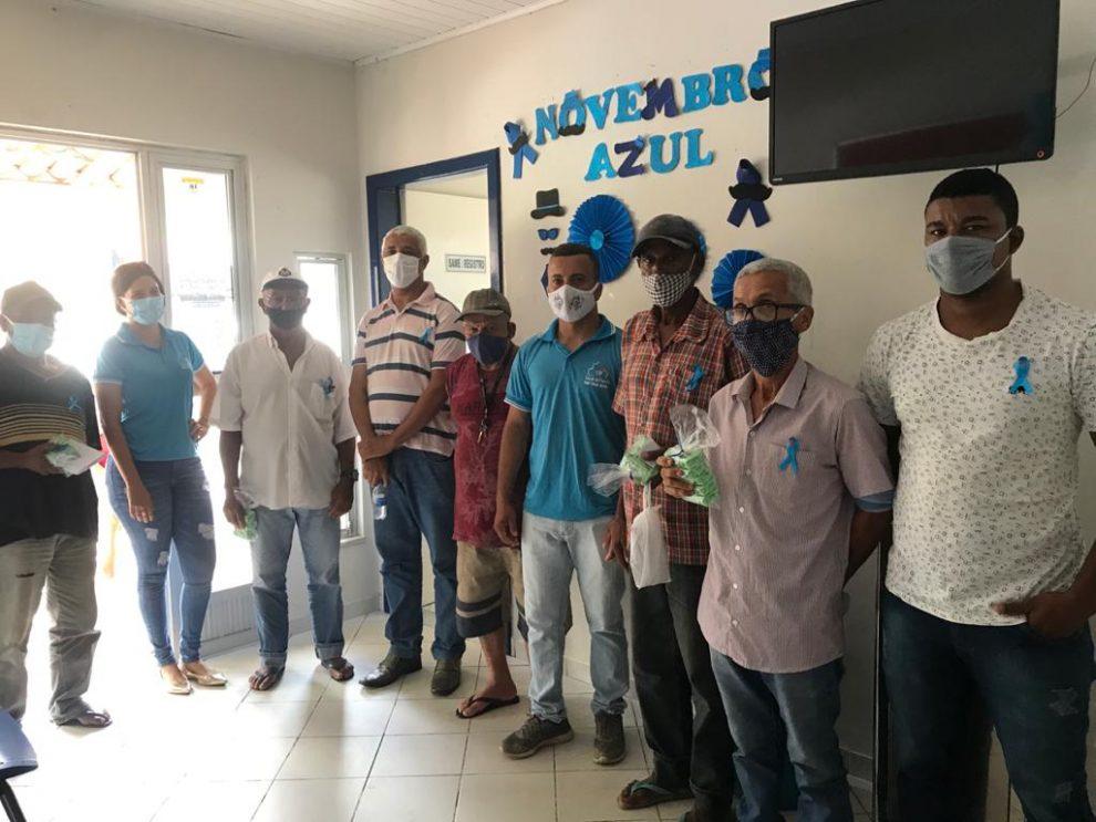 Saúde de Itapetinga promove conscientização durante Campanha Novembro Azul