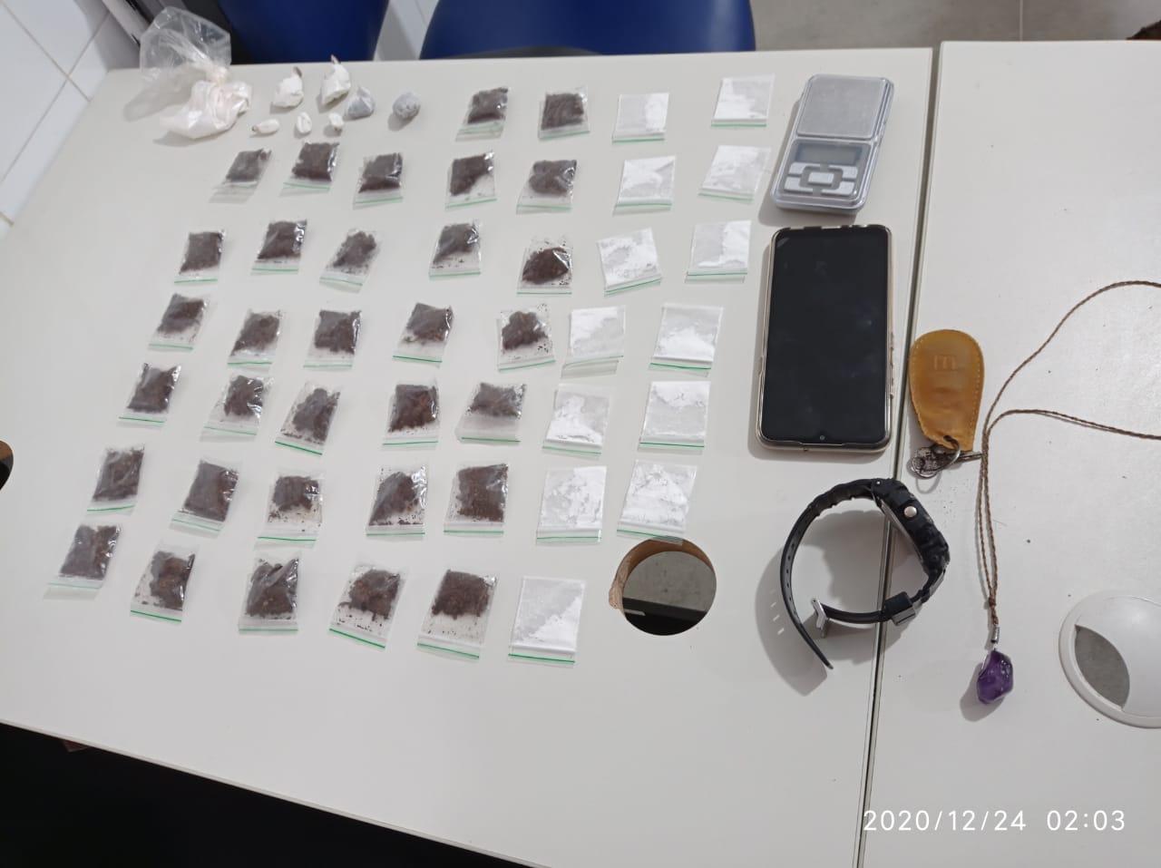 Itarantim: CAESG apreende droga no interior  de casa no Bairro Anedilia de Carvalho