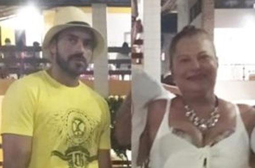 Luto: Saulo Rodrigues Protásio e sua mãe Valneide Amaral