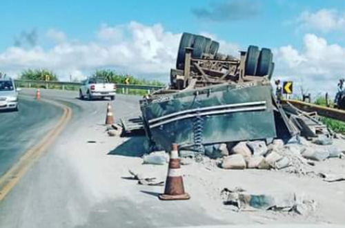 Conquista: Mais um acidente na Serra do Marçal