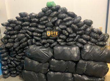 Feira: Avaliado em quase meio milhão, carga de 300 kg de maconha é apreendida