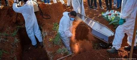 Sábado: Brasil registra 1.212 mortes por covid-19 em 24 horas