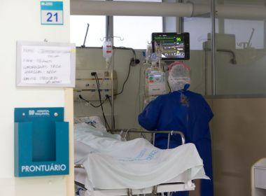 Ocupação das UTIs sobe a 87% na Bahia, que alcança recorde de internados por Covid-19