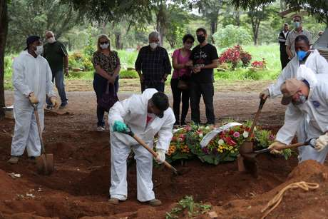 Terça-Feira: Brasil registra 1.167 novas mortes por covid-19 em 24 horas