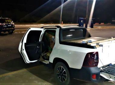 Conquista: Acusado de contrabando tenta fuga e é alcançado na BR-116