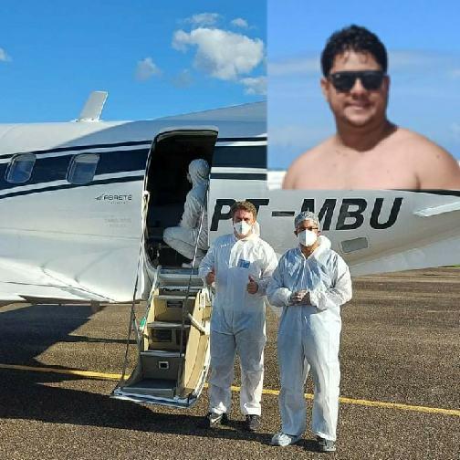 Itororó: Nicson da Top Cell foi transferido em UTI aérea para Salvador