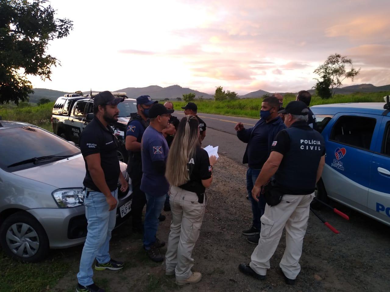 21a Coorpin:  Operação da Polícia Civil  Cumpre Mandado de Prisões em Itambé