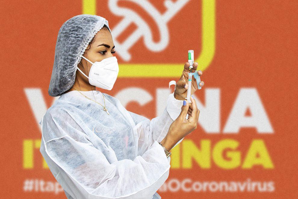 Itapetinga segue vacinação de idosos com mais de 65 anos