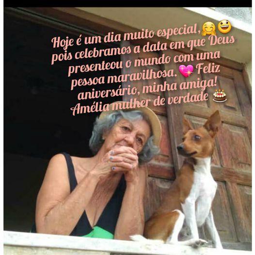 """Itapetinga: Amélia """"Mulher de Verdade"""" é a Aniversariante deste Sábado (10)"""