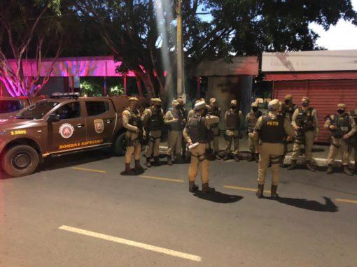 Véspera de Páscoa com muito trabalho para a Polícia Militar em Conquista