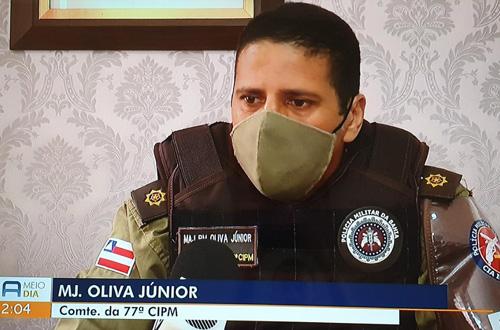 Conquista: Condutor do veículo que atingiu moto do Major Oliva estava alcoolizado, morte do major comoveu a cidade