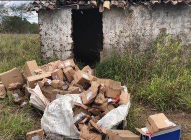Bahia: Polícia prende dois suspeitos e recupera carga de medicamentos avaliada em R$ 800 mil