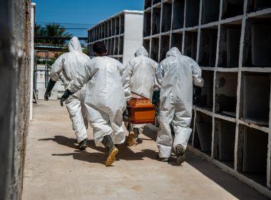 Nesta Terça-Feira o Brasil registrou 2.378 mortes por covid-19