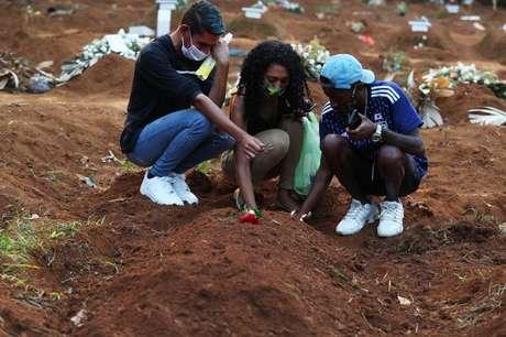 O Brasil registrou mais 1.010 mortes e 37.156 novos casos de covid-19 nesta segunda-feira