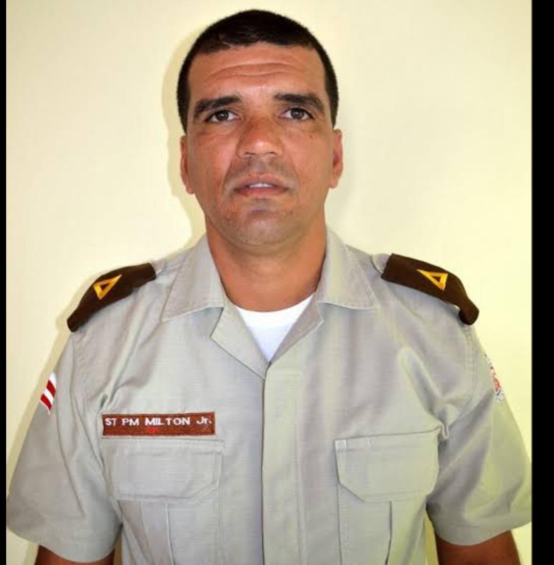 Polícia Militar da Bahia de luto: Morre o Subtenente Milton Jr