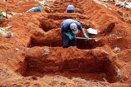 O Brasil registrou nesta quinta-feira 2.383 mortes por covid-19 nas últimas 24 horas