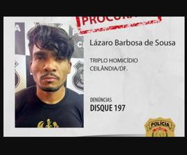 Caçada a criminoso Lázaro se transforma em disputa política