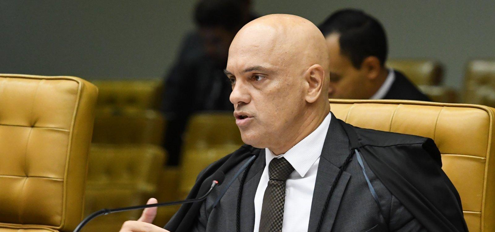 Alexandre de Moraes determina retomada de investigações sobre interferência de Bolsonaro na PF