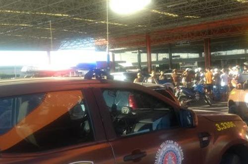 Sargento da Polícia é assassinado em estacionamento do Atacadão
