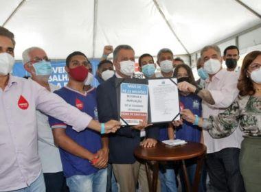 Feira: Rui entrega unidade do Hemoba e anuncia ações em saúde, educação e segurança